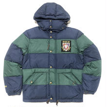 POLO RALPH LAUREN HAWTHORNE DOWN JACKET - NAVY/GREEN