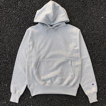 CHAMPION REVERSE WEAVE HOODIE - OXFORD GREY