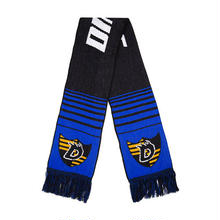 DIME SCARF - BLACK / BLUE