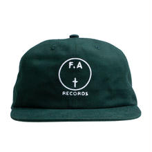 FUCKING AWESOME FA Records Hat -  Moss Green/White