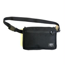 COMA BRAND BLACK HIP BAG