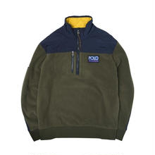 POLO RALPH LAUREN HI TECH HYBRID PULLOVER FLEECE