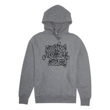 FUCKING AWESOME Sucks Hoodie - Heather Grey