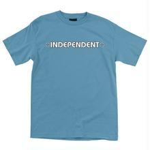 INDEPENDENT BAR CROSS S/S T SHIRT CAROLINA BLUE