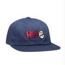 HUF x POPEYE 6 PANEL HAT - NAVY
