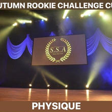 AUTUMN ROOKIE CHALLENGE CUPエントリー 「フィジーク」
