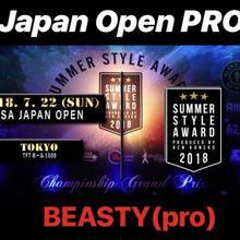 JAPAN OPENエントリー「ビースティPRO」
