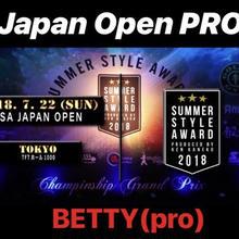 JAPAN OPENエントリー「ベティPRO」