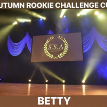 AUTUMN ROOKIE CHALLENGE CUPエントリー 「ベティ」