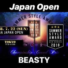 JAPAN OPENエントリー「ビースティ」