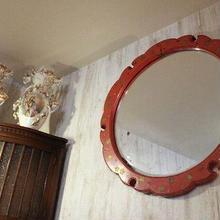 品番 k-0435 朱塗 鏡