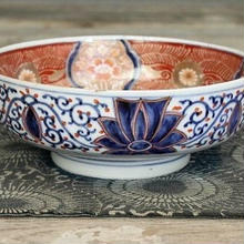 金襴手 赤絵鉢