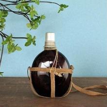 品番 g-0675 紫ガラス 水筒