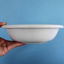 品番 t-0241 白磁 洋深皿 ノリタケ