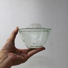 品番 g-0650 型吹きガラス 蓋茶碗