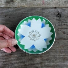 品番 t-0291 カラフル小皿 花柄