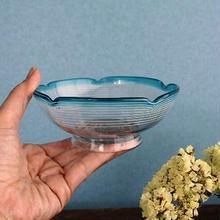 品番 g-0597 縁青白糸巻 氷コップ