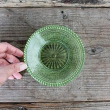 品番 g-0694 プレス皿 Green