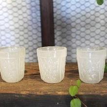 乳白ショットグラス 2
