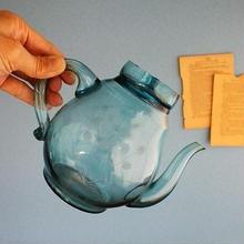 品番 g-0683 ガラスポット Blue