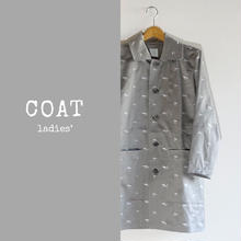 STRETCH COTTON COAT ladies'