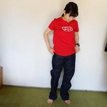 RED/ECRU 15years anniversary T-shirts