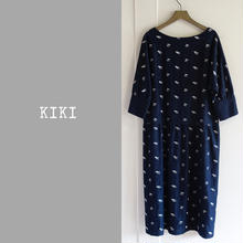 DENIM KIKI ONE-PIECE