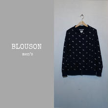DENIM BLOUSON men's