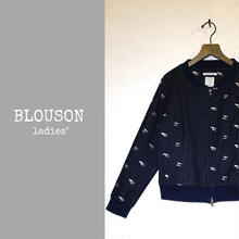 DENIM BLOUSON ladies'