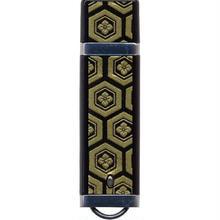 漆器 USBフラッシュメモリー16GB   亀甲(桐箱入)