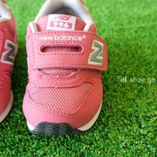 ● KID'S & BABY モデル ● Newbalance (ニューバランス) / FS996 CII  ピンク