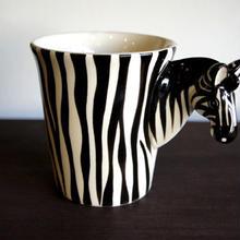 ★ 3D立体 アニマル マグカップ / Zebra (ゼブラ) ★