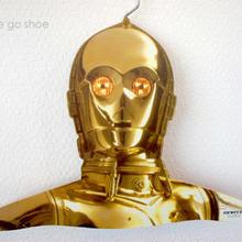 ★ STAR WARS (スターウォーズ) 木製 ハンガー / C-3PO ★