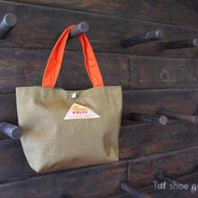 KELTY ケルティ / Mini tote Bag S(ミニトート バック S)/ TAN×Orange