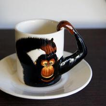 ★ 3D立体 アニマル カップ&ソーサー / Chimpanzee (チンパンジー) ★