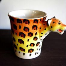 ★ 3D立体 アニマル マグカップ /  Leopard(ヒョウ) ★