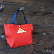 KELTY ケルティ / Mini tote Bag S(ミニトート バック S)/ RED×NAVY