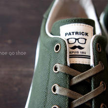 【 送料無料 】 PATRICK(パトリック) / PUNCH-CV (パンチ-キャンバス)/ OD (オリーブ) 529118  / made in JAPAN(日本製)