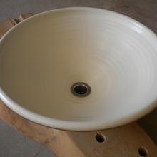 モダンホワイト(大)手洗い鉢
