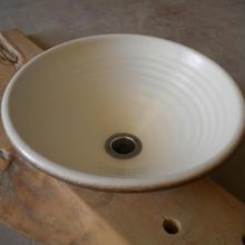 モダンホワイト(中)手洗い鉢
