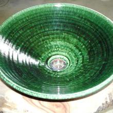 織部(大)手洗い鉢