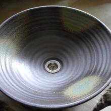 灰釉(大)手洗い鉢
