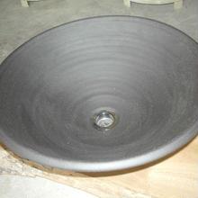 炭化黒焼き締め(大)手洗い鉢