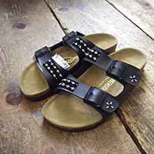 EARLY MORNING×BIRKENSTOCK 『BEADS SANDAL (ARIZONA) black』