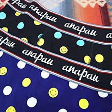 【SALE】 anapau 『BOXER PANTS (SMILE DOT)』