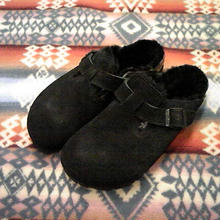 BIRKENSTOCK 『BOSTON FUR black』
