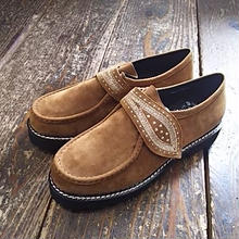 【SALE】 Nasngwam. 『LEAVES SHOES beige』
