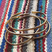 (再入荷) NAVAJO 『12KGF NARROW BANGLE(ROUND)』