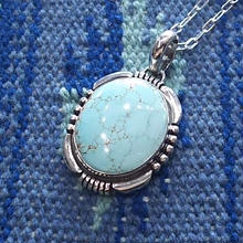 NAVAJO 『TURQUOISE NECKLACE (HERMAN VANDEVER)』