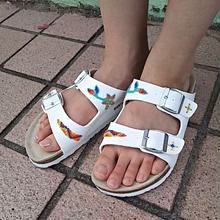 EARLY MORNING 『BEADS SANDAL(ARIZONA white) 42サイズ』